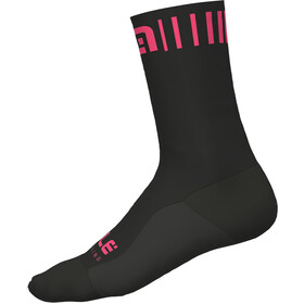 Alé Cycling Strada Socks black-fluo pink